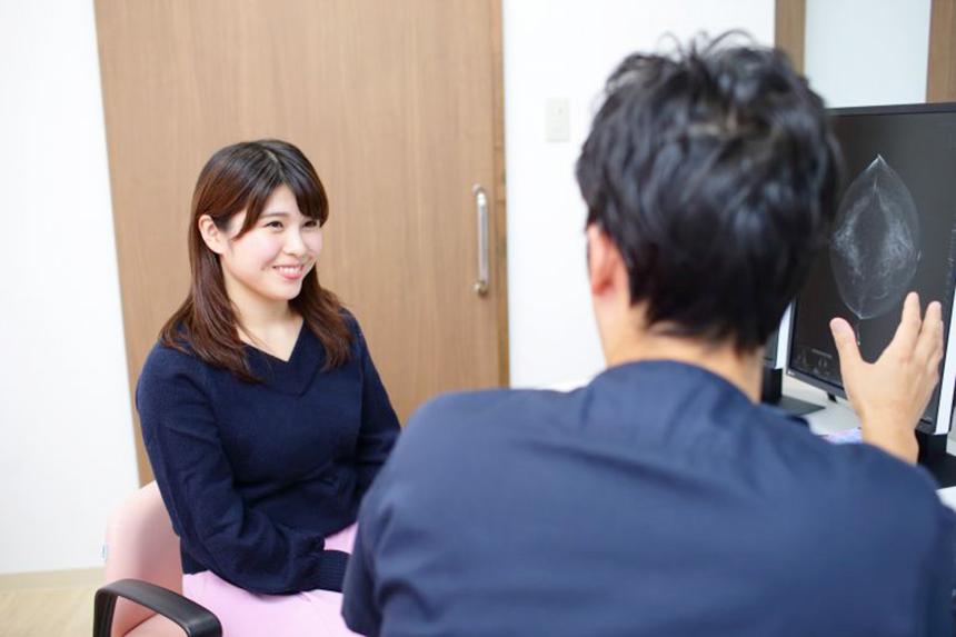 乳がん検診・母乳相談の湘南台ブレストクリニックの診察風景