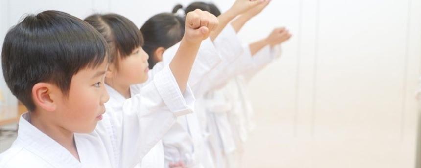 T-KIDSシェアスクールの『勇輝道場』に通う子ども
