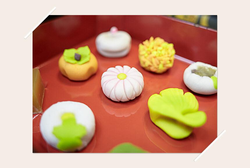 鎌倉の和菓子屋『美鈴』の上生菓子