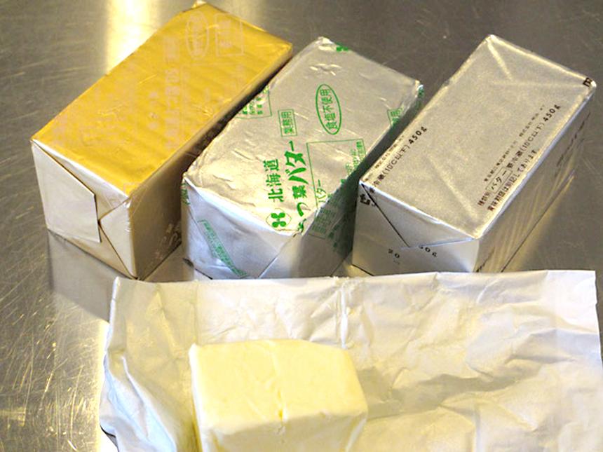 辻堂のパン屋『食パン工房 fluffy(フラフィー)』の国産バター