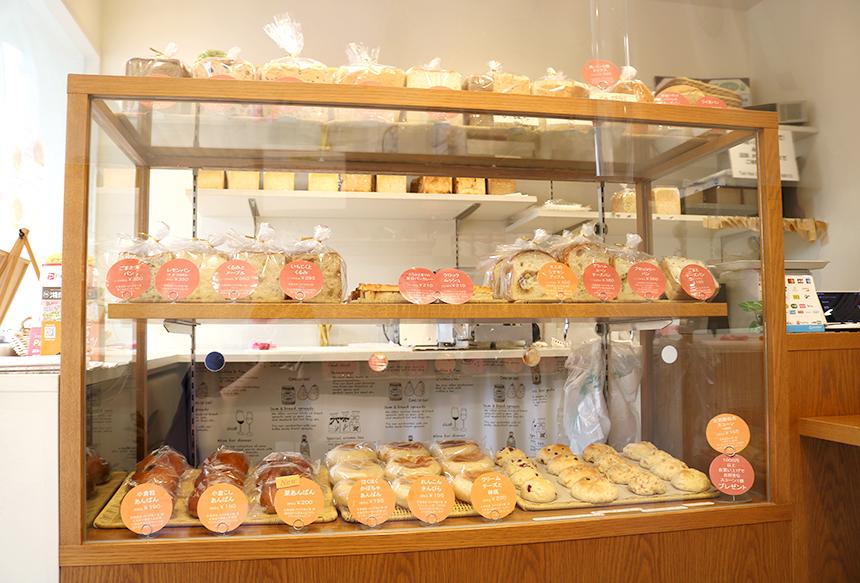 辻堂のパン屋『食パン工房 fluffy(フラフィー)』の食パンや菓子パン