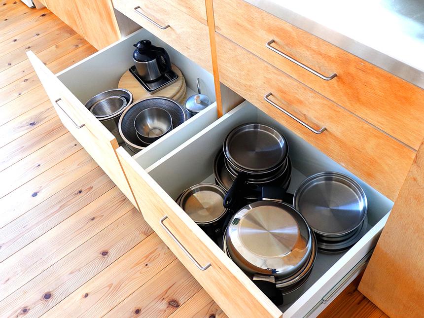 茅ヶ崎・レンタルスペース&カフェ『Holiday Village(ホリデービレッジ)』のレンタルスペースBの調理道具