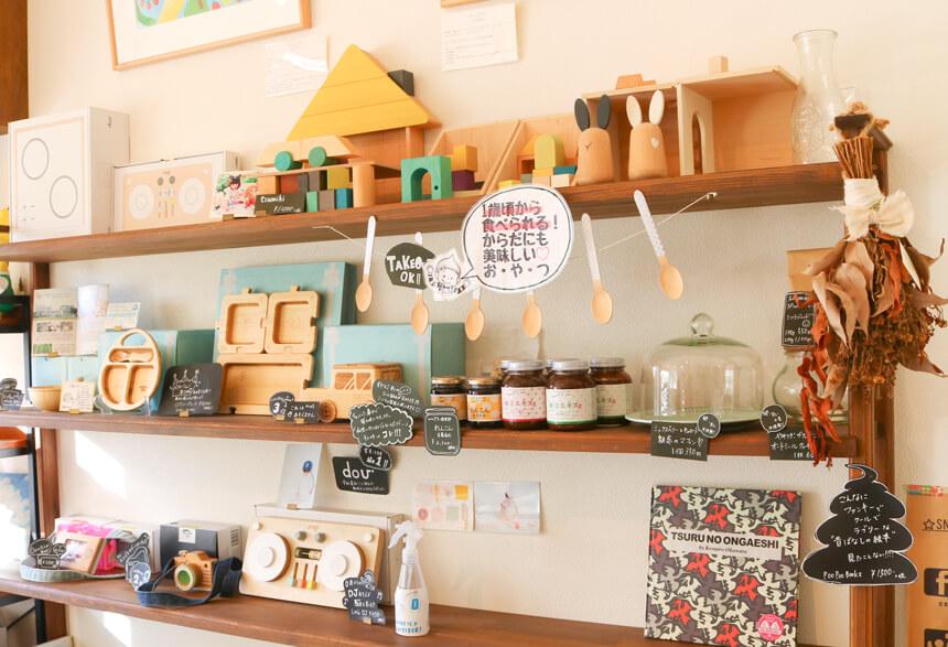 鎌倉親子カフェ『MISORA CAFE(ミソラカフェ)』の子ども向けおもちゃと食器