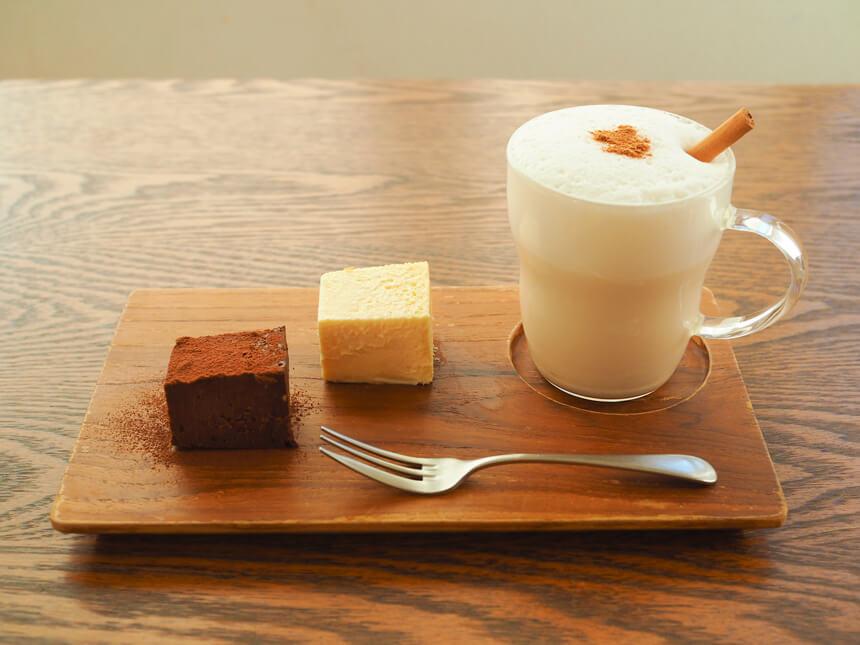 鎌倉親子カフェ『MISORA CAFE(ミソラカフェ)』のスイーツセット