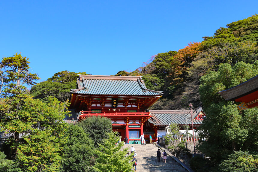 鎌倉観光『鶴岡八幡宮』の本宮