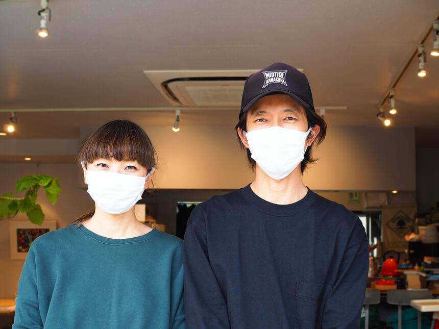 鎌倉のカフェ『umicafe ウミカフェ』のオーナーご夫妻