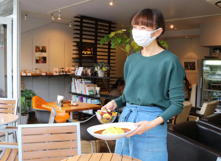 鎌倉のカフェ『umicafe ウミカフェ』のオーナー