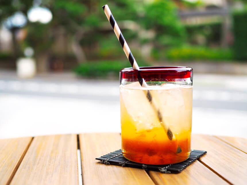 鎌倉のカフェ『umicafe ウミカフェ』の杏ソーダ