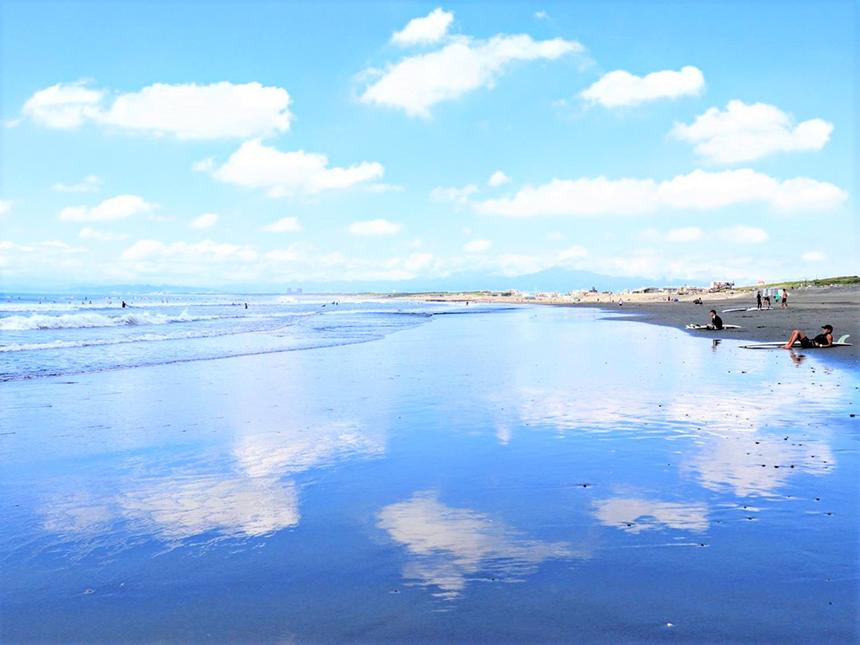 湘南・鵠沼海岸の海