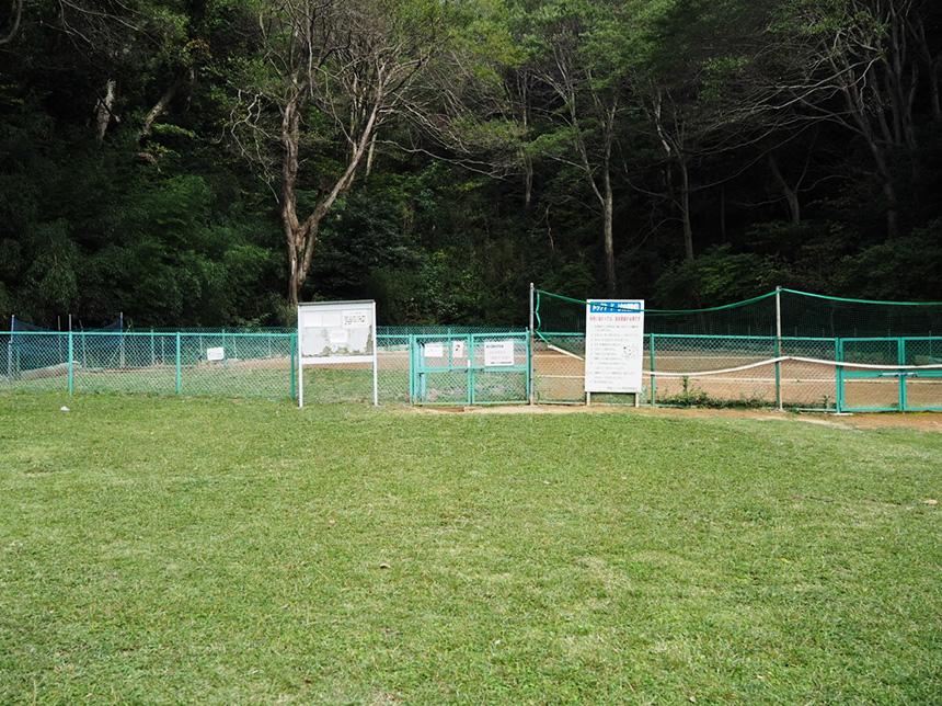 葉山『南郷上ノ山公園』のドッグヤード