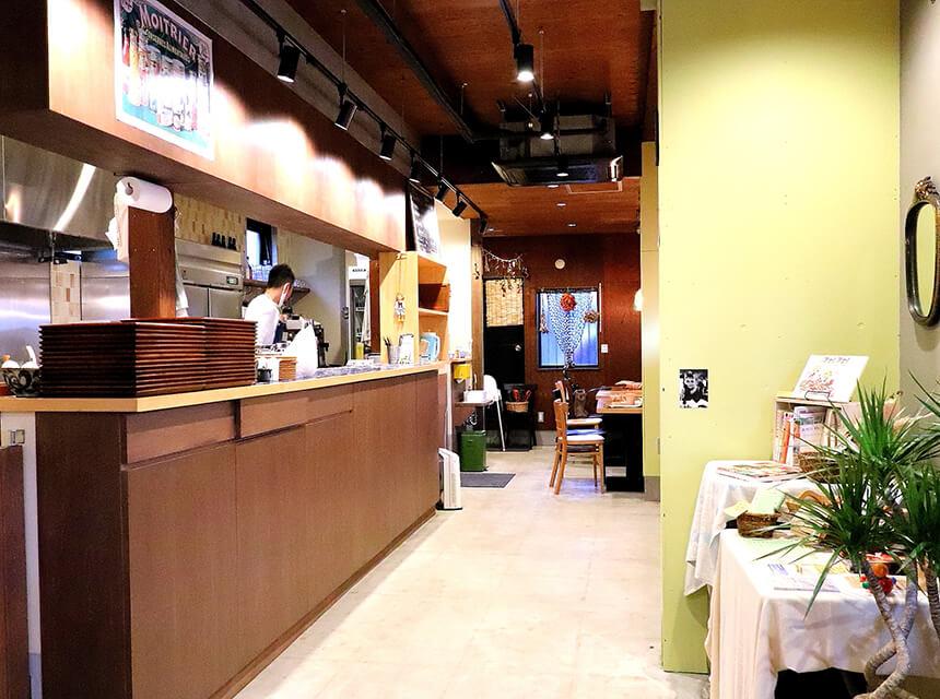 茅ヶ崎『いろどり食堂』の店内