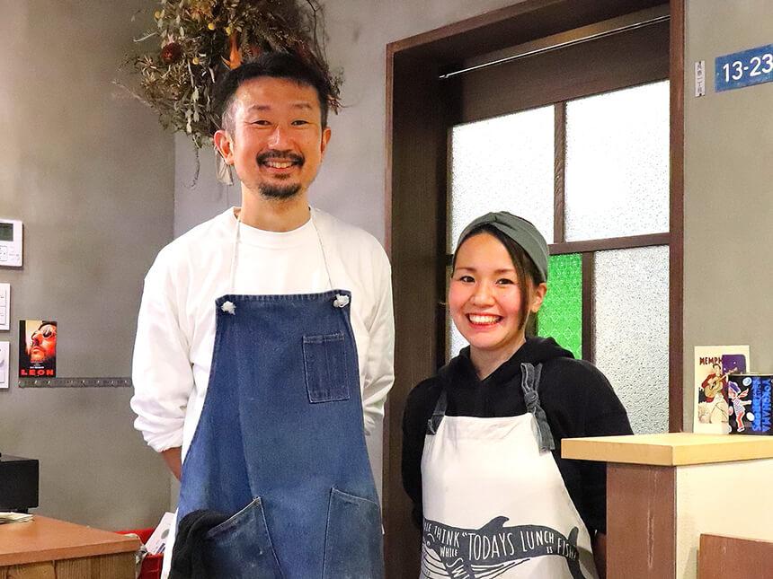 茅ヶ崎『いろどり食堂』のオーナー夫妻
