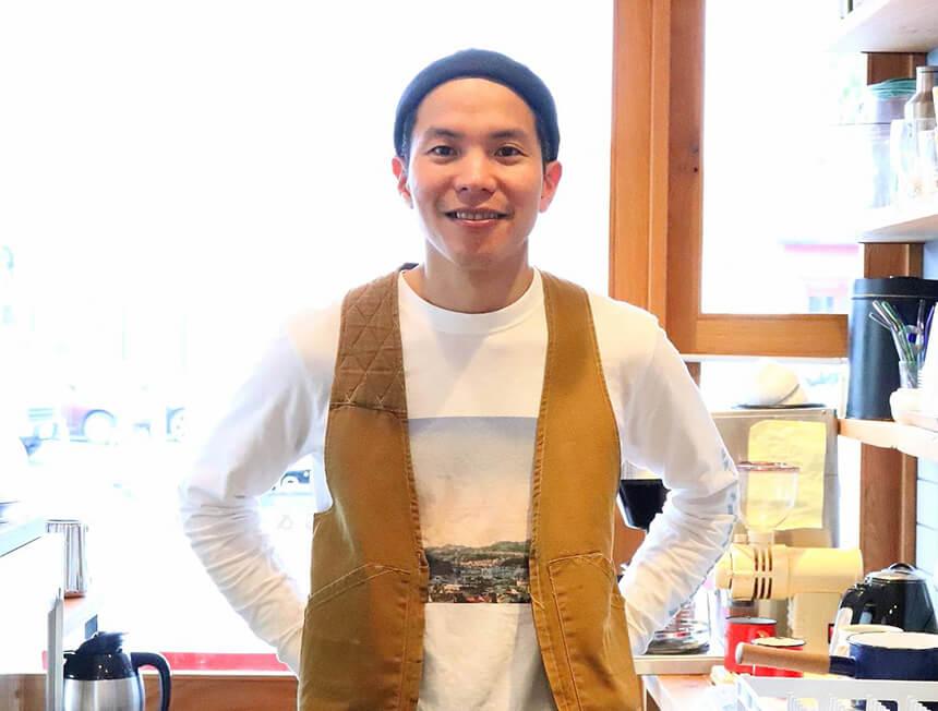 鎌倉のカフェ・ケーキ『POMPON CAKES(ポンポンケークス)』のオーナー