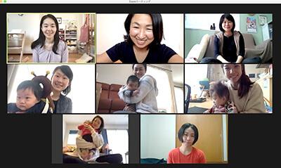 子育てオンライン教室『マドレボニータ』産後ケアクラス:対話