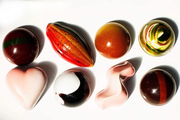 葉山・Nicolas&Herbs(ニコラ&ハーブ)の「葉山の宝石チョコレートシリーズ」