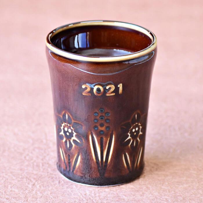 葉山 プリンショップ&カフェ マーロウの「アメ色陶器入り生チョコレート」