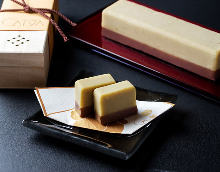 北鎌倉 Chocolaterie CALVA(ショコラトリー カルヴァ)の「栗きんとんショコラ」