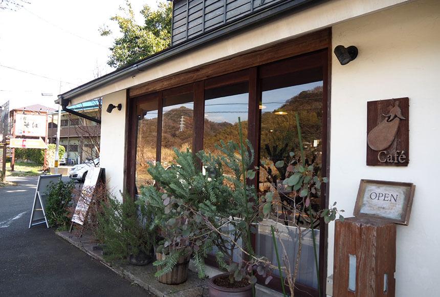 葉山のカフェ『Cafe 会英楼(かいえいろう)』の外観