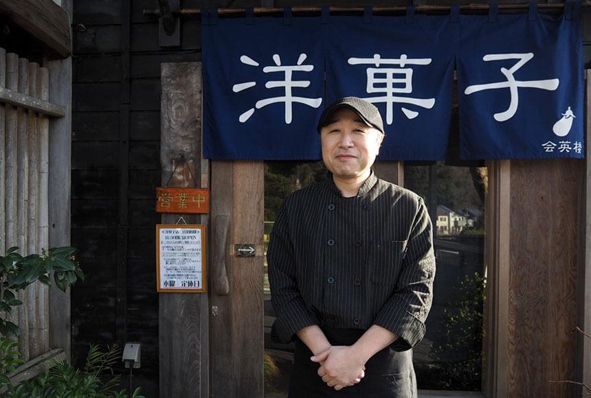 葉山のカフェ『Cafe 会英楼(かいえいろう)』のオーナーシェフ