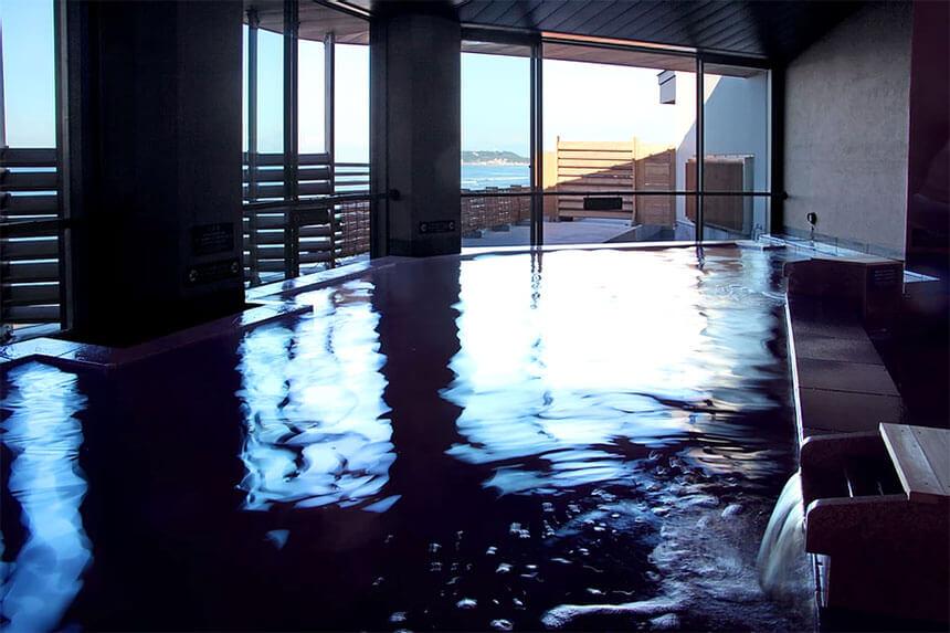 鎌倉・稲村ケ崎温泉の内風呂