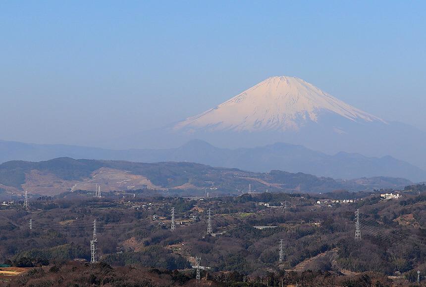 平塚『湘南平』展望台から眺める風景