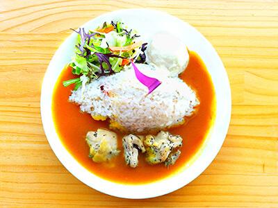 平塚『湘南平』レストランの「お子様カレー」