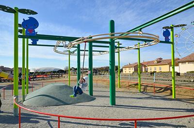 『長井海の手公園 ソレイユの丘』の子ども遊具