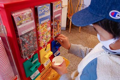 横須賀『長井海の手公園 ソレイユの丘』のキッズプレートのお菓子