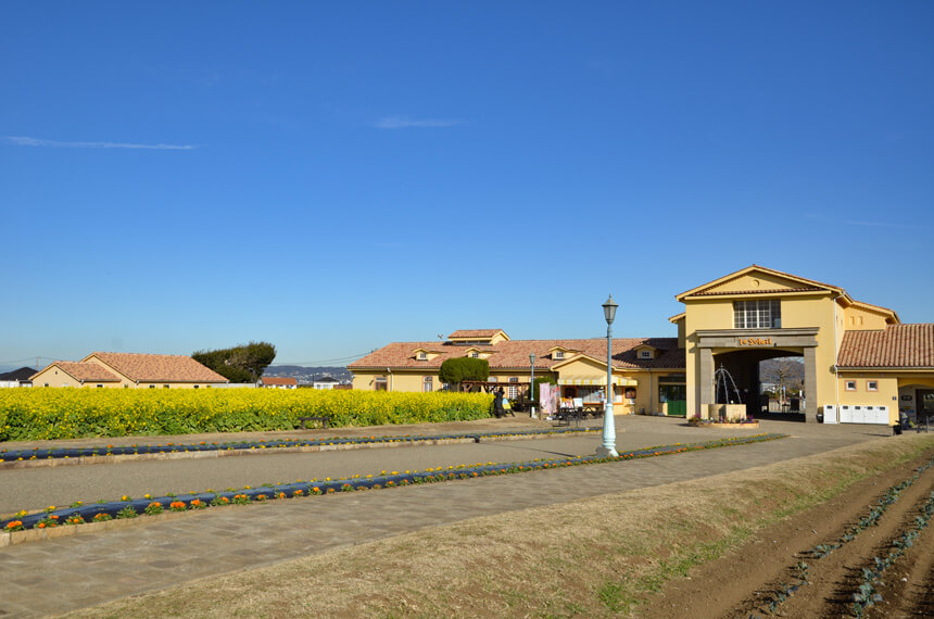 横須賀『長井海の手公園 ソレイユの丘』のエントランス