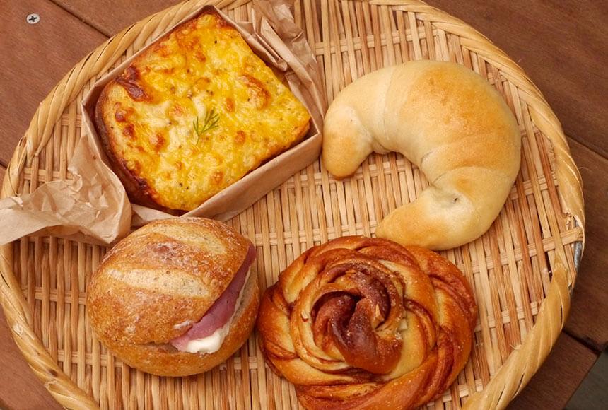 茅ヶ崎の移動パン屋さん「くにぱん」のパン