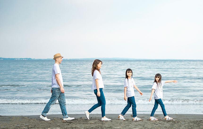 写真館・フォトスタジオ「スタジオカノン」の家族写真