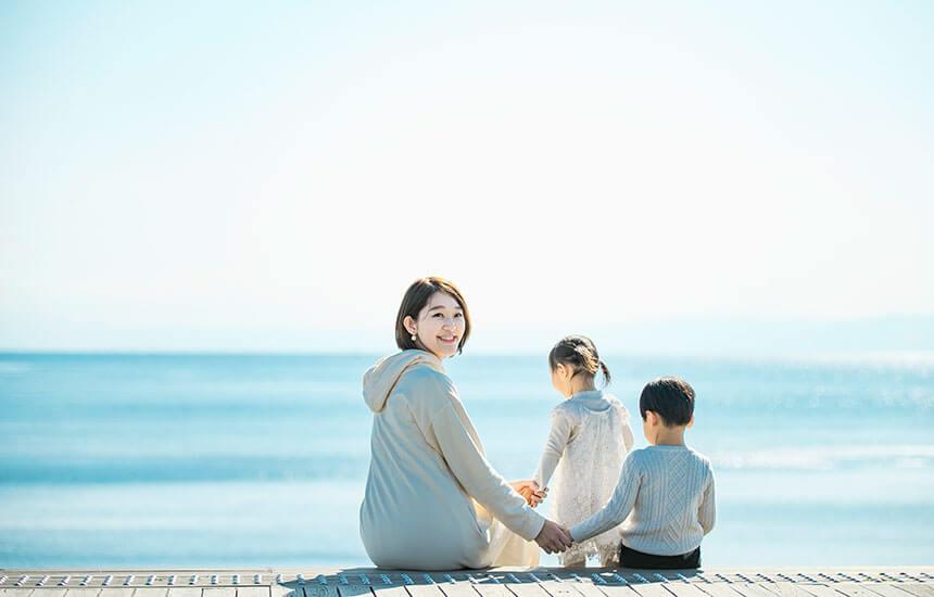写真館・フォトスタジオ「スタジオカノン」の家族写真撮影