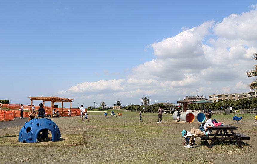 湘南海岸公園のちびっこ広場