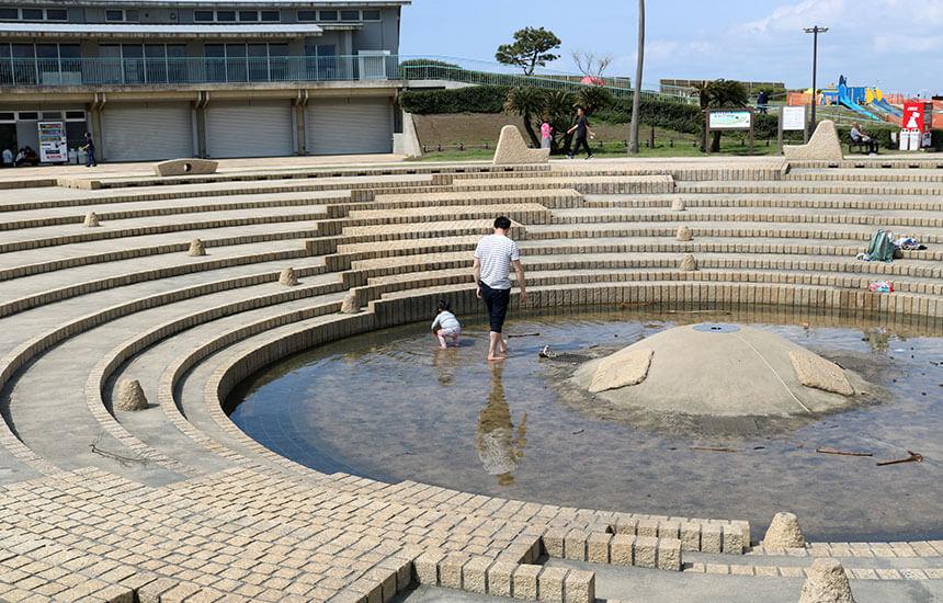 湘南海岸公園の水の広場