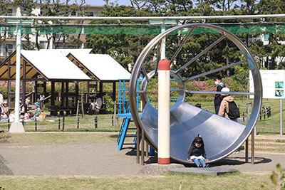 湘南・辻堂海浜公園のすべり台