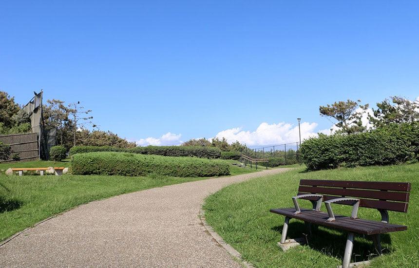 湘南・辻堂海浜公園から辻堂海岸へ