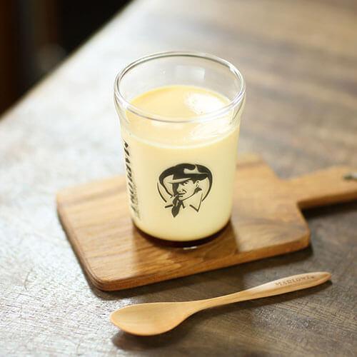 葉山・プリンショップ&カフェ マーロウの「カスタードプリン」