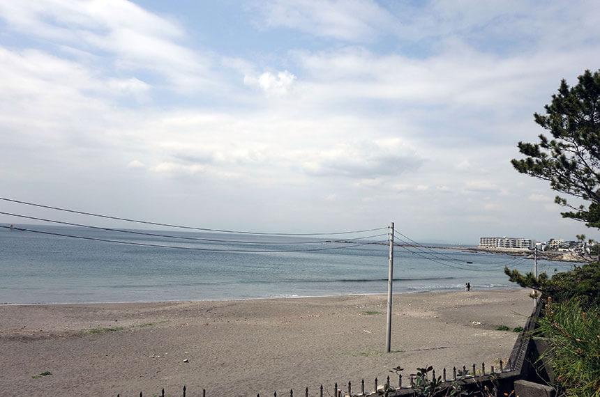 葉山・一色海岸