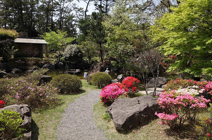葉山しおさい公園の日本庭園