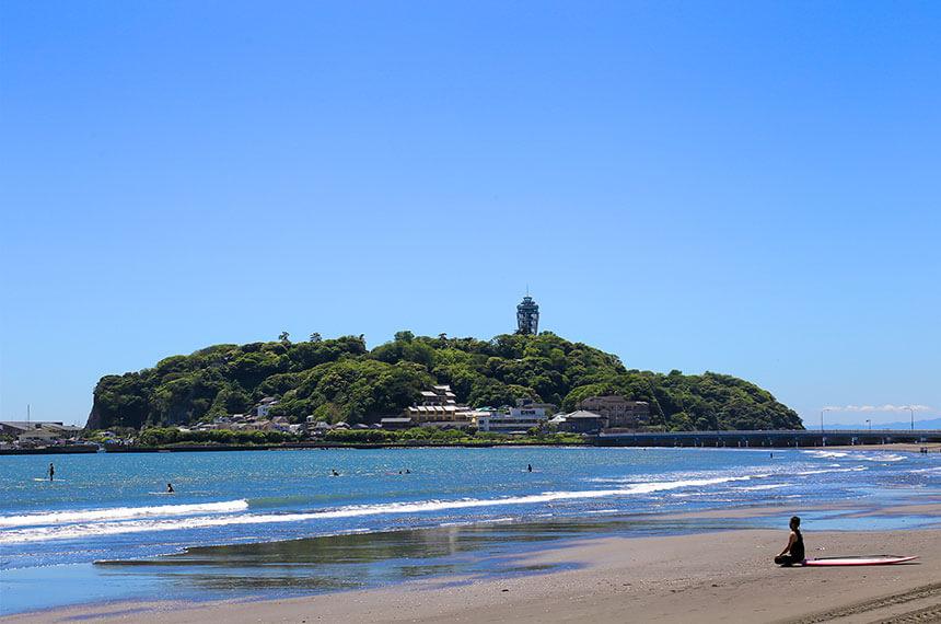 湘南・江ノ島の海