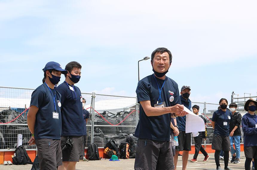 湘南・江ノ島『海岸生物観察会』のリーダー藤田均さん