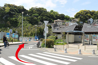 江ノ島の集合場所地図