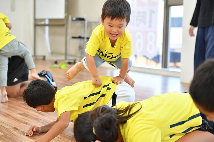 湘南の体操教室・運動教室『湘南ゴールデンエイジアカデミー』の子ども