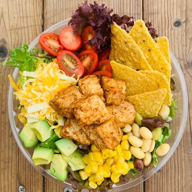 辻堂のサラダ専門店「ベリーベジー」の人気サラダ「Cali-Mex(カリメックス)」