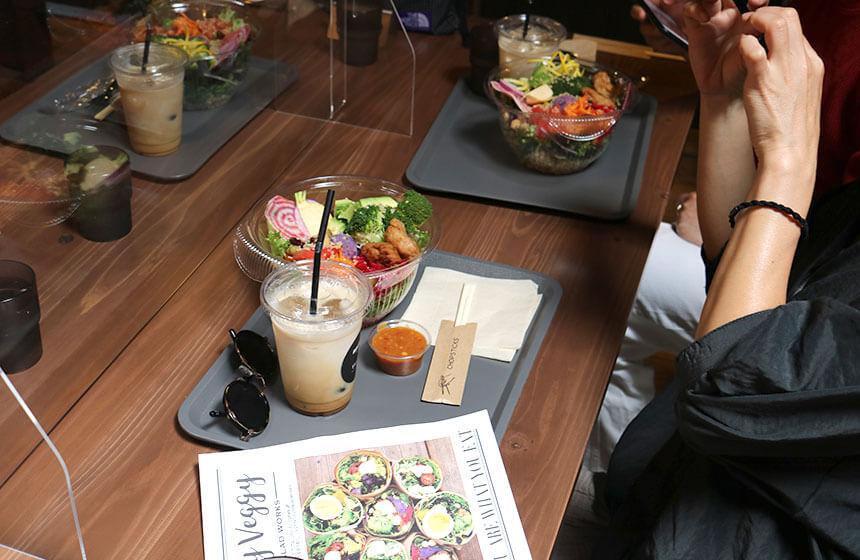 辻堂のサラダ専門店「ベリーベジー」でママ友ランチ