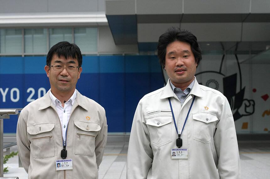 藤沢市役所の都市整備部公園課の方々