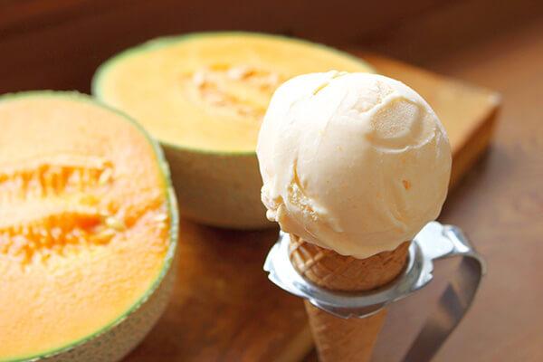 ヒロホームメイドアイスクリームの「アイスクリーム」