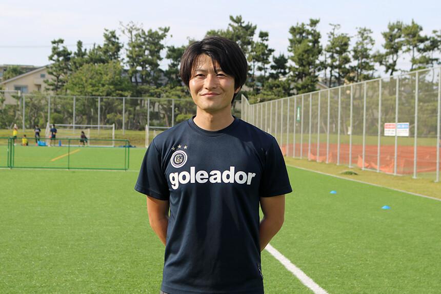 うみべのサッカークラブを主宰する渡辺滋人さん