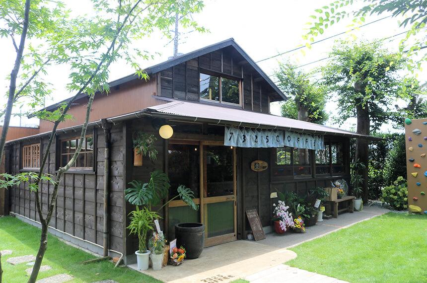 納屋をリノベーションした7325コーヒー(ナミニココーヒー)の新店舗