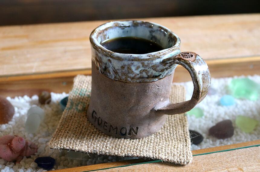 ナミニココーヒーのホットコーヒー